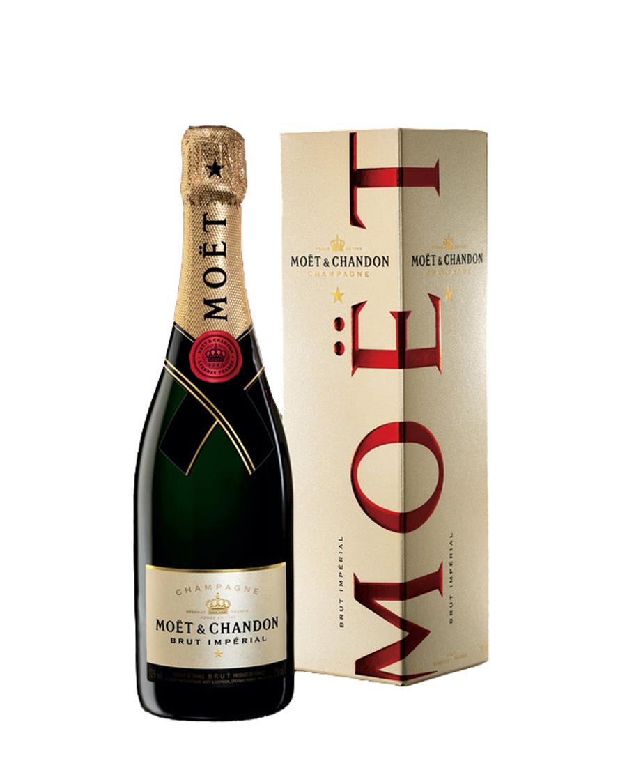 Šampanja Moët & Chandon Brut Imperial 75 cl. kinkekarbis