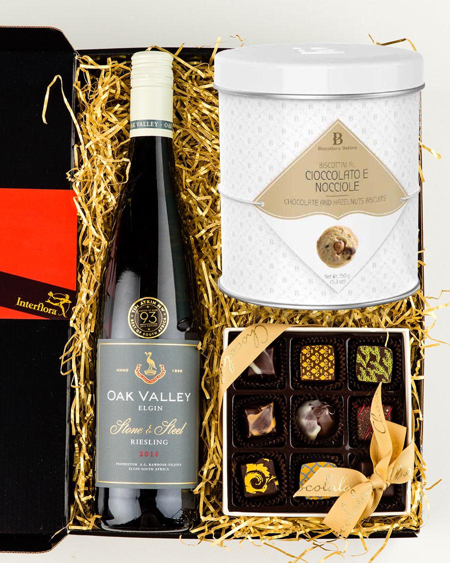 Oak Valley Riesling vein, käsitöökommikarp ja gurmeeküpsised