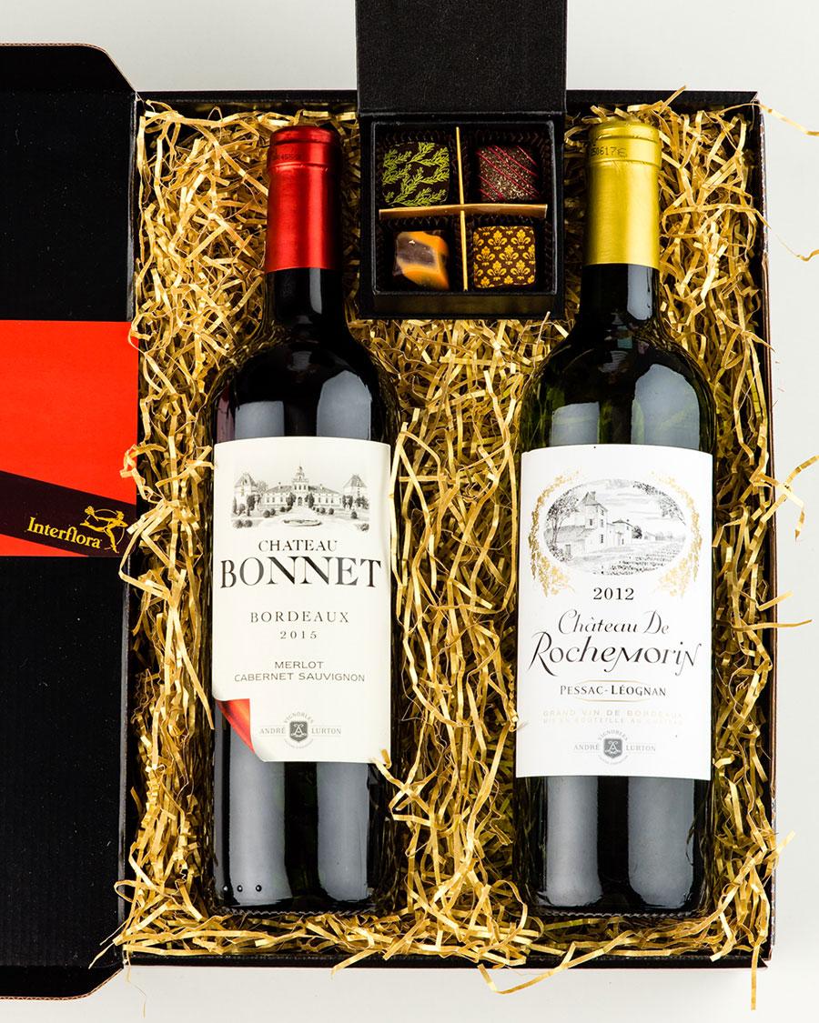 Rochemorin Chateau Blanc ja Chateau Bonnett AOC veinid, käsitöökommikarp