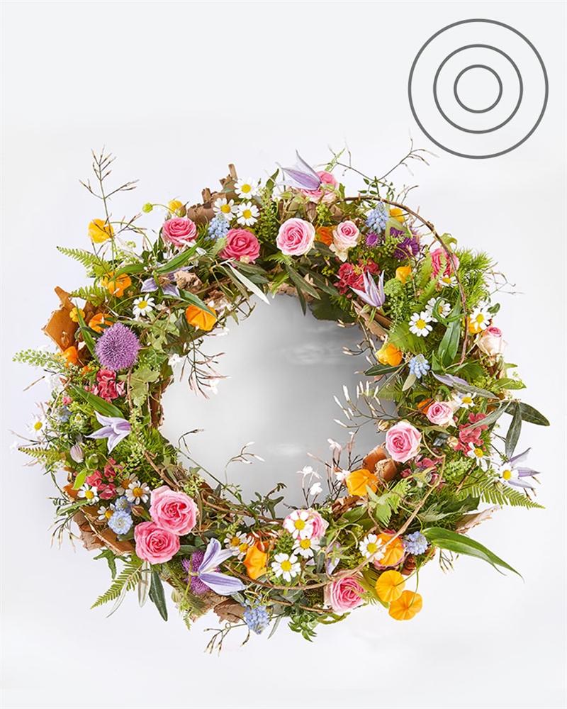 Silent landscape | Funeral wreath
