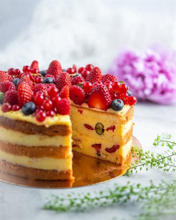Vanillikreemi tort