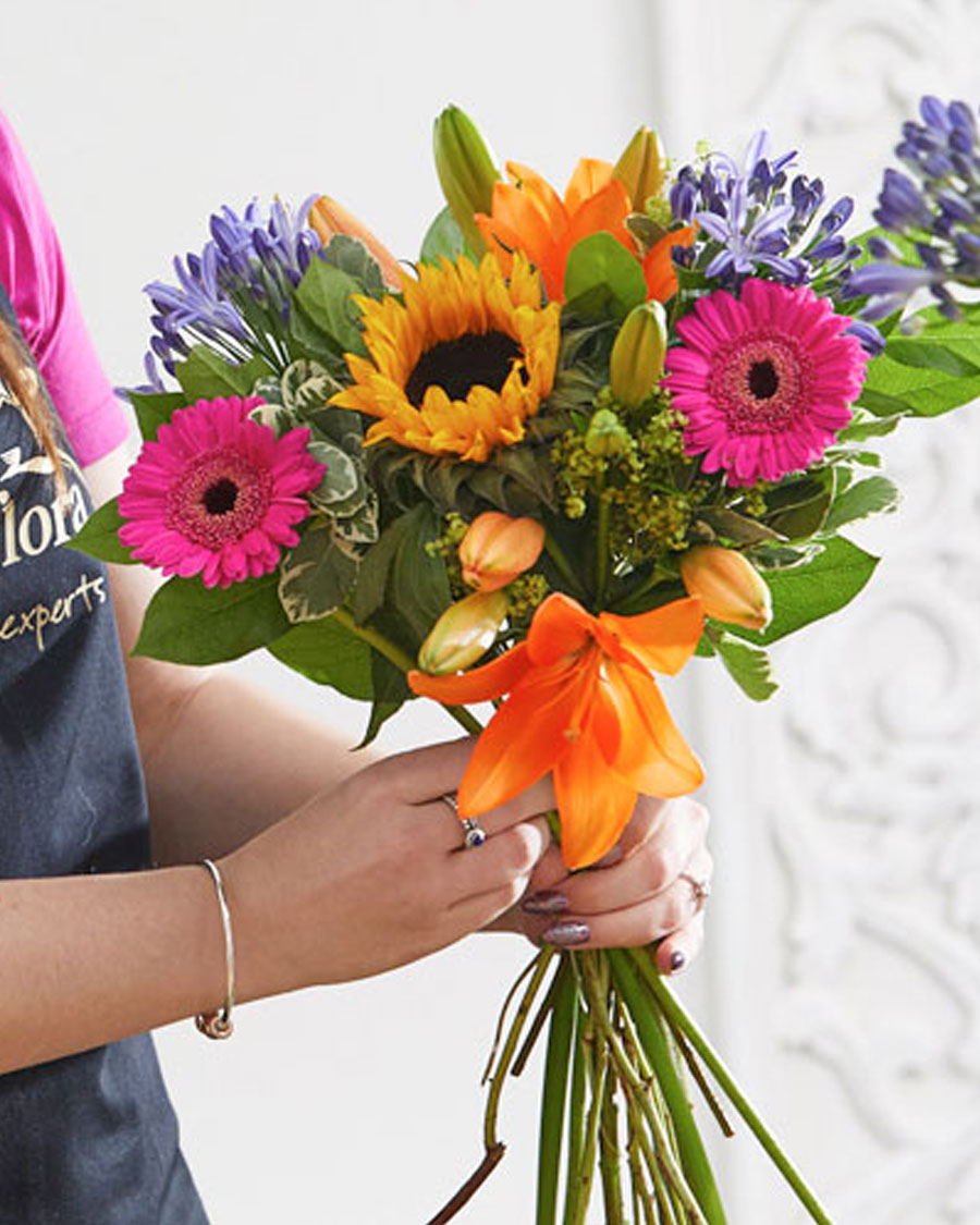 Gift Wrapped bouquet (Florist's choice)
