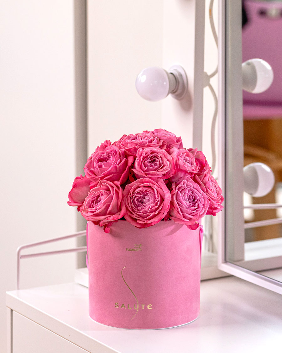 Roosiaia printsess, roosas sametkarbis